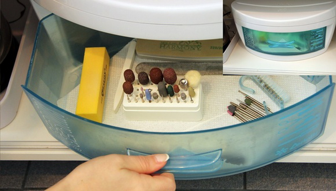 Стерилизация для маникюрных инструментов в домашних условиях