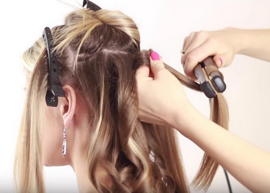 Как в домашних условиях сделать волос прямым 672