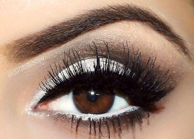макияж для чёрных глаз фото
