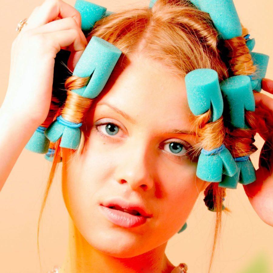Папильотки для волос своими руками фото