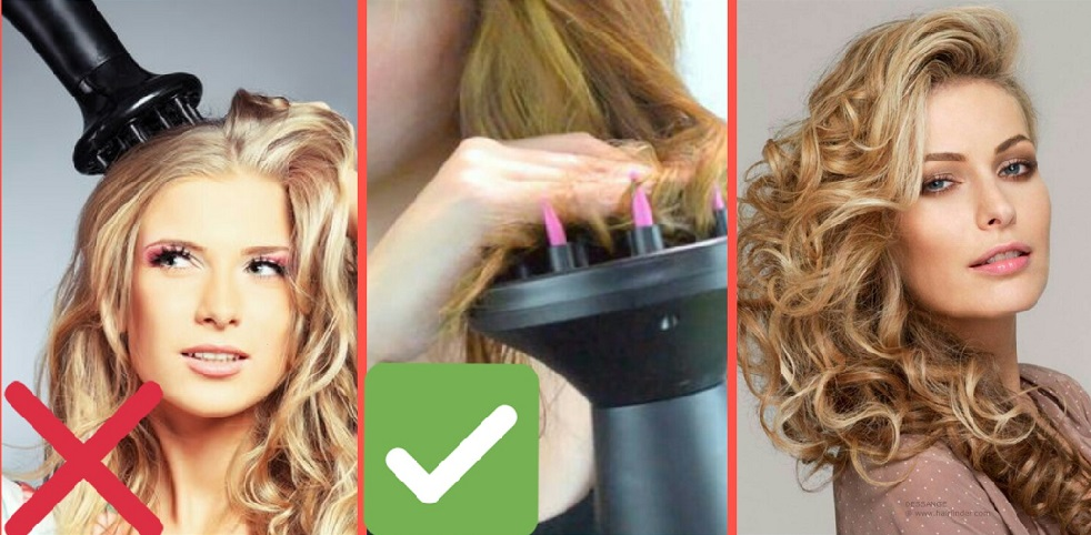 Диффузор для волос. Как сделать укладку с диффузором для 43