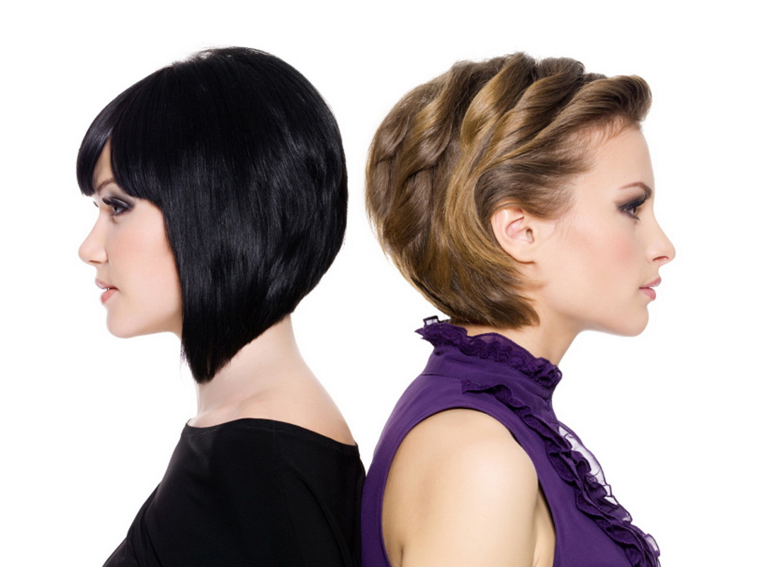 Как правильно уложить короткие волосы феном самой