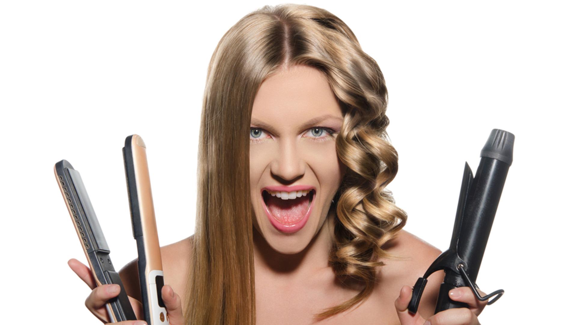 Какие инструменты применяются для завивки и укладки волос