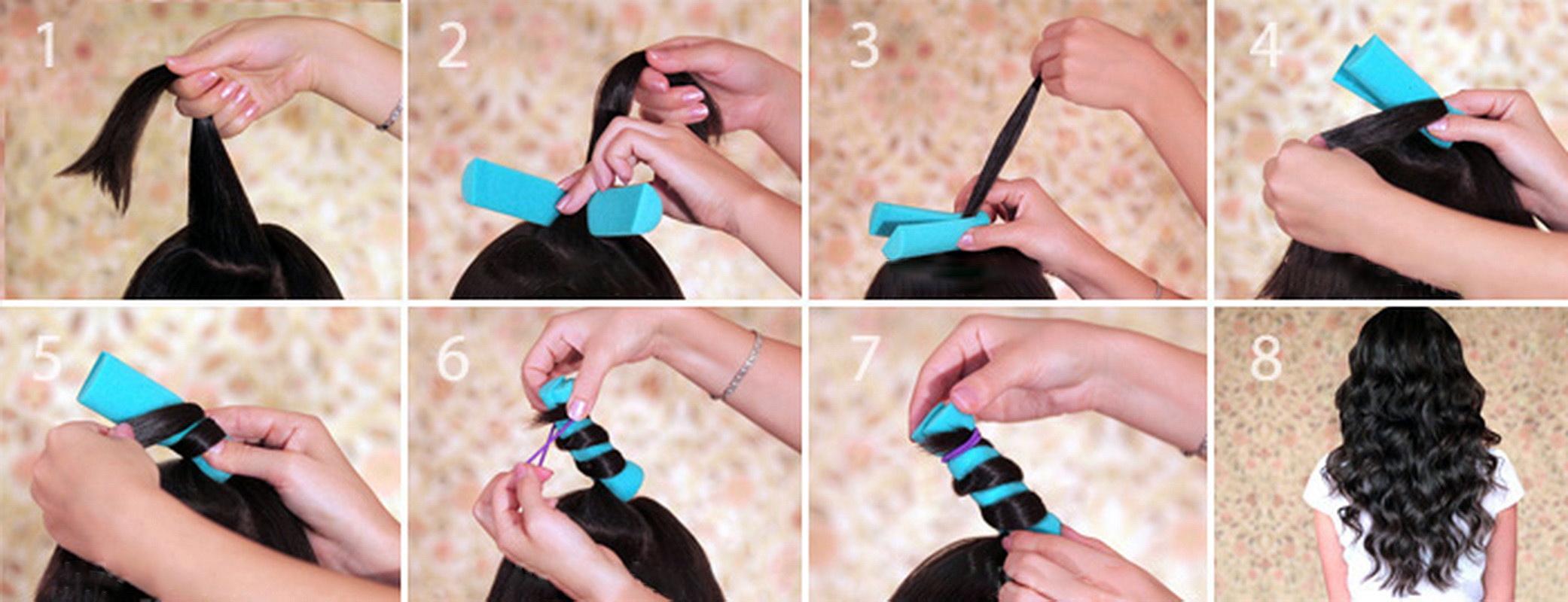 Как накрутить короткий волос в 43