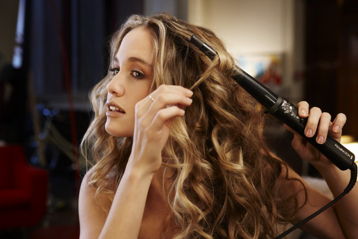 Как накрутить волосы на плойку красиво, чтобы локоны держались долго