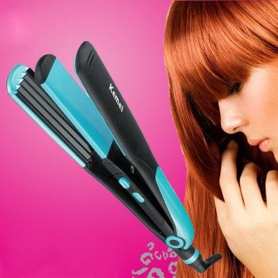 Какие пластины лучше для выпрямителя волос