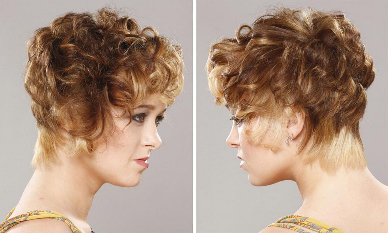 Кудри на короткие волосы в домашних условиях фото - Мой секрет 28