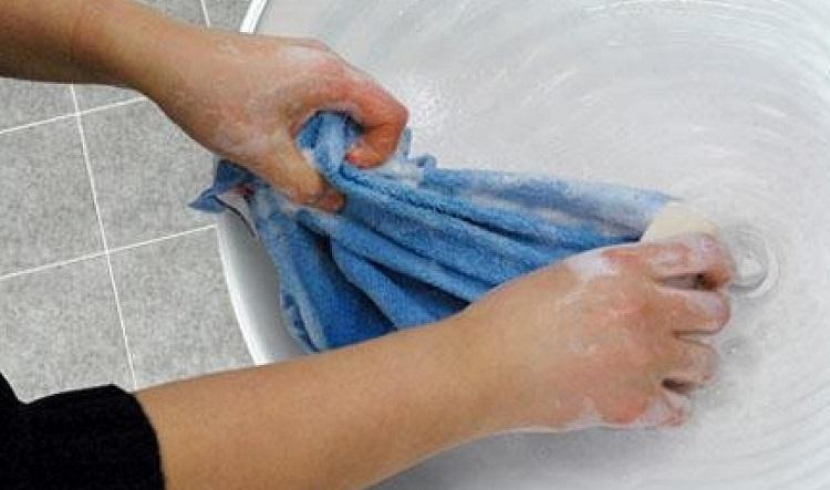 Отстирать махровые полотенца в домашних условиях 261