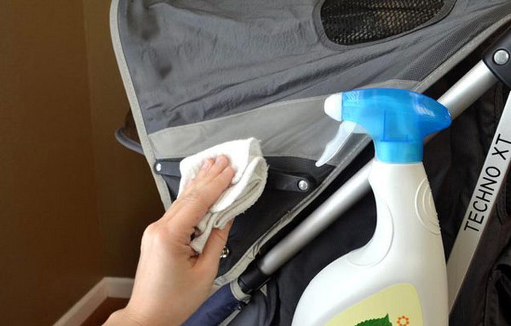 Чем вывести плесень с коляски в домашних условиях