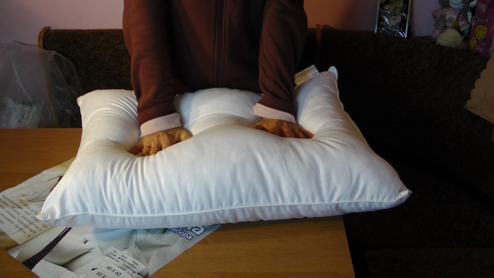 Как пересыпать перьевую подушку и поменять наперник