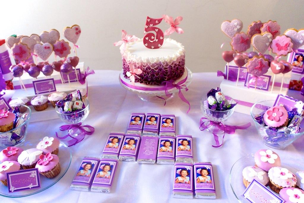 Сладкий стол на день рождения ребенка. Рецепты