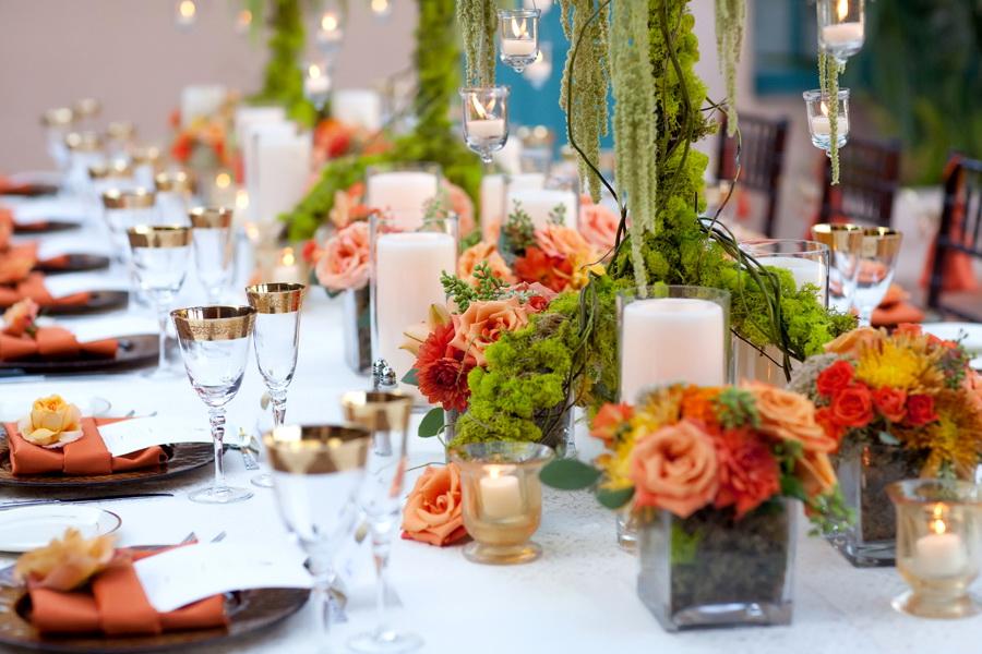 Как накрыть свадебный стол своими руками фото 58