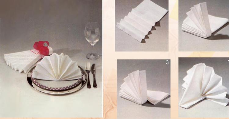 Как сделать салфетницу на стол