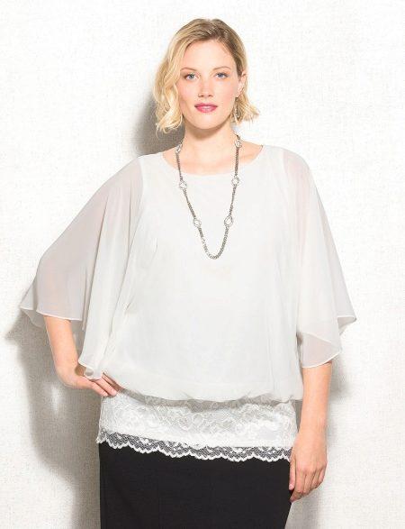 1027a66dc42 Еще одним правилом хорошей блузки является аккуратное отношение к паховой  зоне. Эксперты советуют выбирать длину блузки