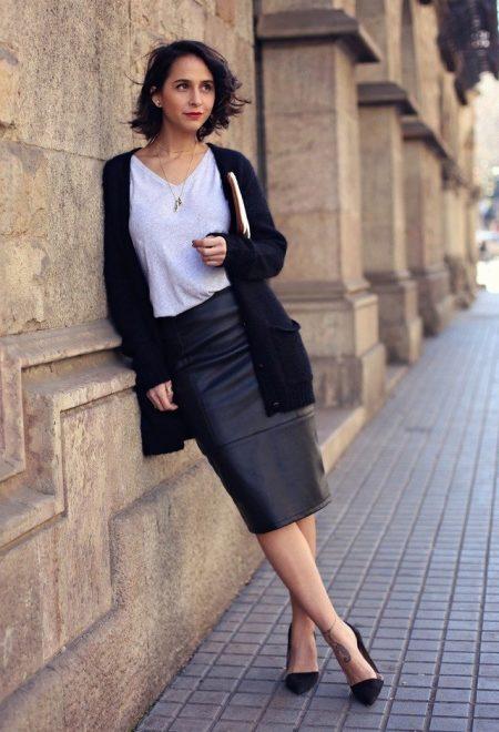 c053290817f С чем носить черный кардиган – Блог о рукоделии и моде