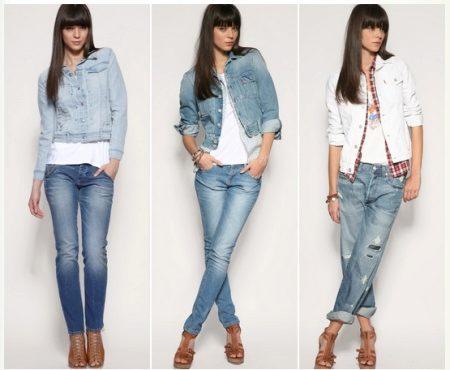 Женский джинсовый пиджак (45 фото): с чем носить, модные пиджаки 2018