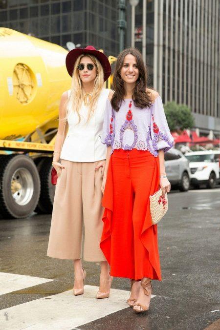 Женские брюки модные