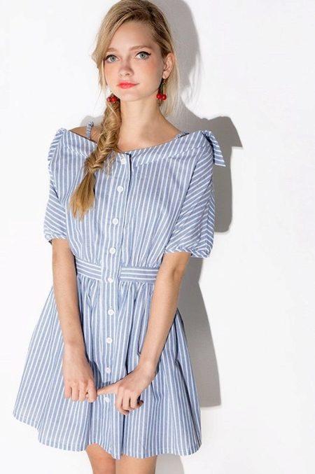 Как выглядит рубашка платье