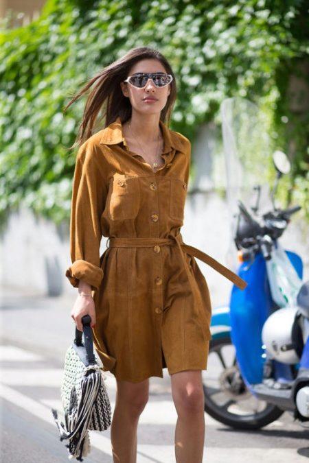 Рассмотрим наиболее популярные модели платья-рубашки 12d8596ecc971