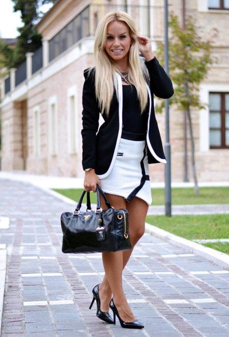 С чем носить черный пиджак (82 фото): женские образы, с брюками, джинсами, рубашкой