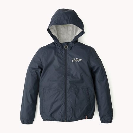 Blue windbreakers become the basis of many fashion collections. Despite the  presence of the lining 541aab7d23e