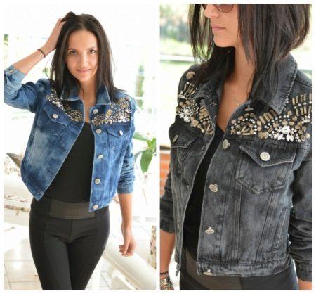 d8c146e824c Джинсовые куртки женские 2019 года (108 фото)  модные
