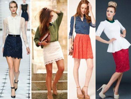 Свойство юбки