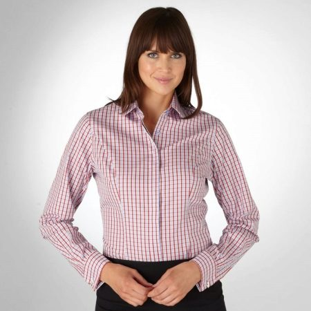 3595157c9ee8 Рубашки в клетку женские 2019 (82 фото): английские, длинные, синие ...