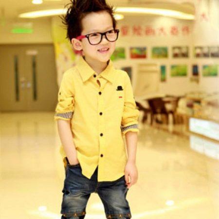 32d215b346c2 Рубашки для мальчиков и подростков (56 фото): модные поло, с длинным ...