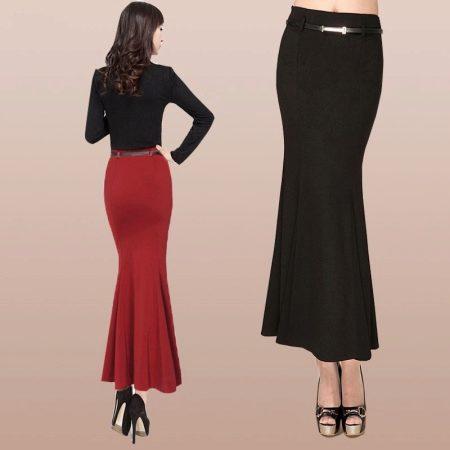 Длинная юбка гаде