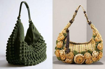92fd2117a8f7 Вязаные сумки уже сами по себе уникальны. На сегодняшний день их  вероятность приобретения высока не только в модном бутике, но и в самом  обычном магазине.