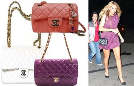 27906753ce74 Делаются сумки Chanel из натуральной кожи или твида, того самого из  которого шьются пиджаки и юбки. Встречаются модели и из настоящей шерсти.