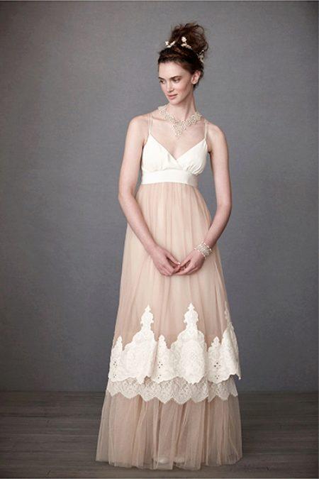 Свадебное платье в стиле - Рустик - (48 фото)