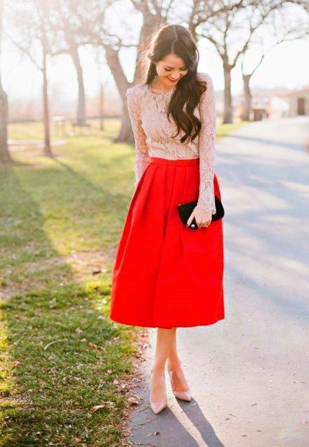 Туфли для юбки солнце