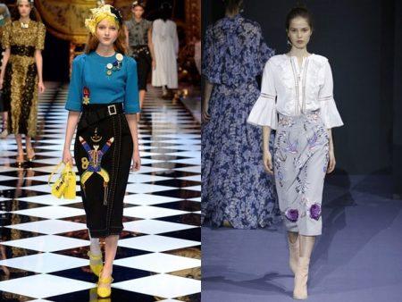 23841e407d6 Разобраться в новых моделях и актуальных расцветках юбки-карандаш помогут  модные тенденции 2017 года. Преимущества же этой модели во многом  прослеживаются в ...