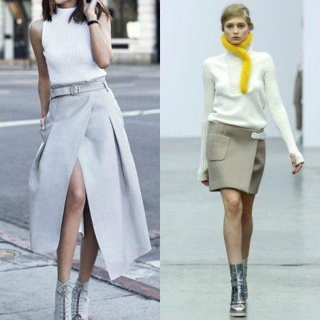 Разный стиль юбок