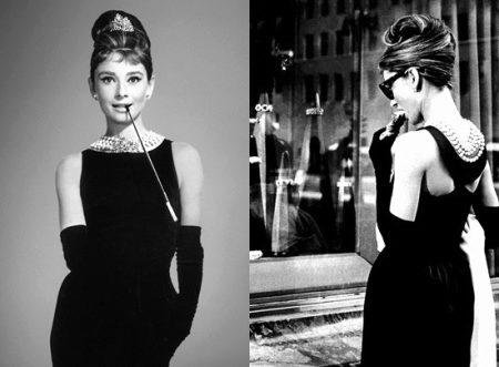 Жемчуг и маленькое черное платье