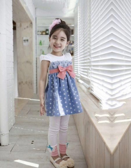 Детская повседневная платья