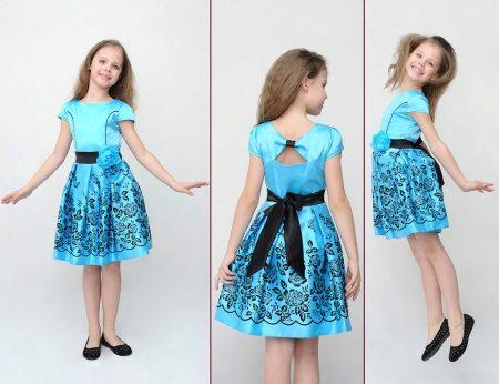 Фасоны платья для девочек 11 лет