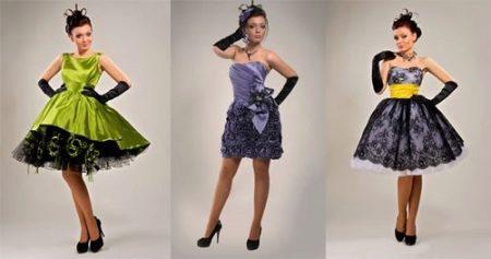 061bbd34cffa4e1 Ассиметричный подол, рукава и баска представляют современные коктейльные  платья. Такой фасон во многих проявлениях подходит для пышечек.