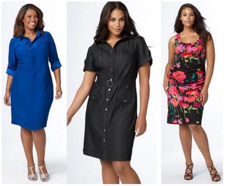 32f45a36ae48 Летние платья для полных женщин (116 фото) 2019  больших размеров ...