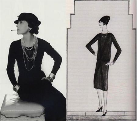 3314c7af8d7 История и секреты Шанель. История создания маленького черного платья ...