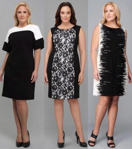 1a4a6a1f7174e21 Не спешите думать, что роскошные платья элегантных фасонов – не для вас.  Дизайнеры подарили полненьким женщинам свои варианты платьев, скрадывающих  полноту.