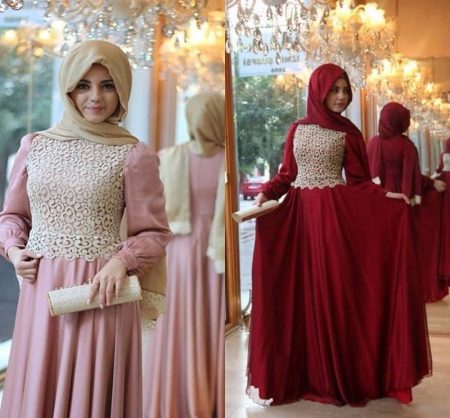 Фото платья для мусульманок