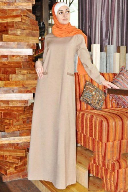 Стильные платья с длинным рукавом фонарик фото