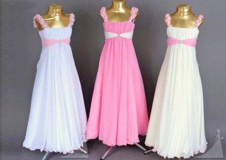 Шьем нарядные платья на выпускной