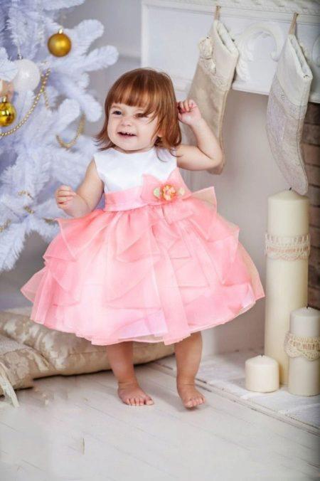 2bded42e2cd Платье на годик девочке (1 год) (51 фото)  красивое