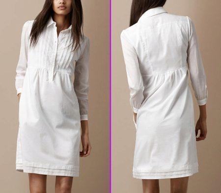Мастер-класс:шить из рубашки платье