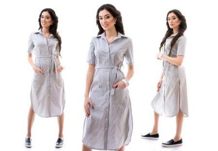 f972539d7ca Платье-рубашка 2019 (154 фото)  новинки