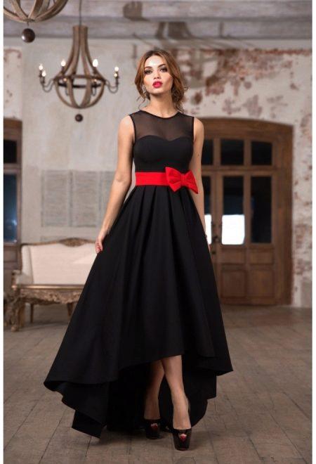 Как называется длинный подол женского платья